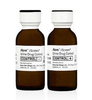 Alere iScreen Drug Control Kit (Positive & Negative – 20ml) | 88005 - ToxTests