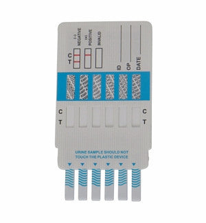 Alere 6 panel Drug Test Cards | DOA-1364 (25/box) - ToxTests