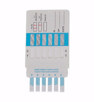 Alere 8 panel Drug Test Cards | DOA-184 (25/box) - ToxTests