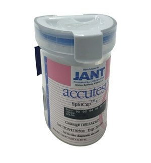 12-panel Accutest SplitCup Drug Test Kit | DS012 - ToxTests