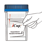 Alere iCup AD 6 panel Drug Tests | I-DUA-167-012 (25/box) - ToxTests