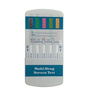 5 panel Drug Screen Dip Cards | W554 (25/box) - ToxTests