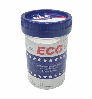 5 panel ECO Cup Drug Tests w/ AD | WECCUP254W/AD (25/box) - ToxTests