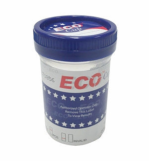 6 panel ECO Cup Drug Tests w/ AD | WECCUP264W/AD (25/box) - ToxTests