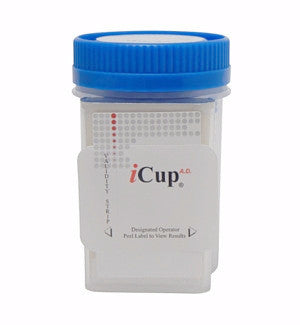 Alere iCup AD 10 panel Drug Tests | I-DUD-1107-012 (25/box) - ToxTests