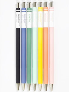Marks Style Colour Gel Pens - Various Colours