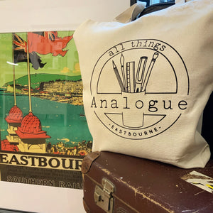 All Things Analogue Tote Bag