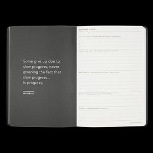 MiGoals Weekly Notes Diary 2021 A5 - Mint