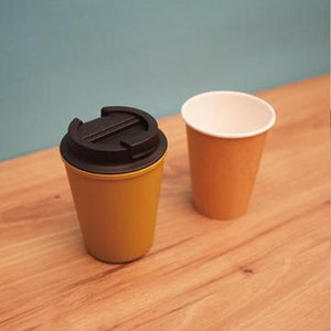 Rivers Coffee Take Away Cup 12oz - Biege