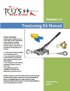 Tensioning Kit Manual