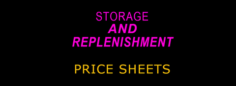 Storage and Replenishment