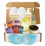 Creamy Vanilla Luxury Spa Gift Baskets for Women - Bubble Bath, Bath Salts, Candle, Lotion + More (Special Edition, 13 pieces)