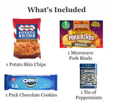 Man Toolbox Gift Basket with Toolbox, Chips, Nuts, Jerky and Sweet Snacks