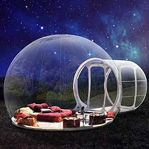 Inflatable Transparent Bubble Tent with Tunnel - Scodian.com