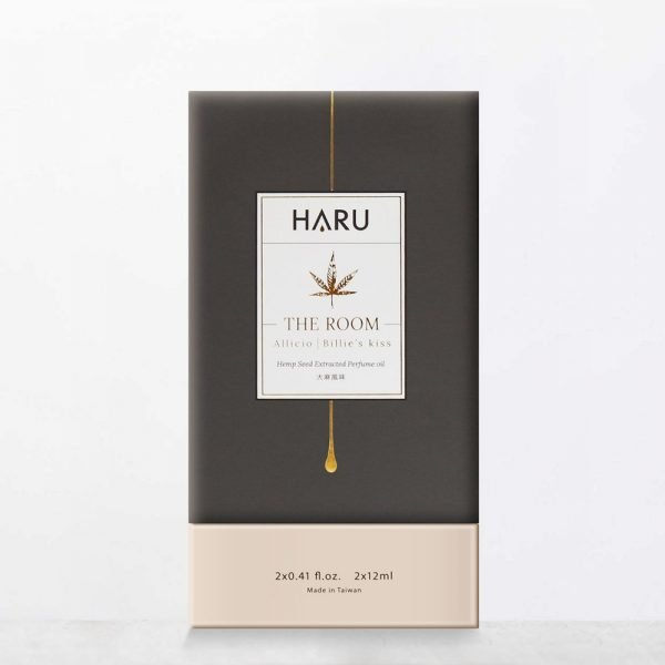 HARU THE ROOM 大麻香水精油 15ml x2