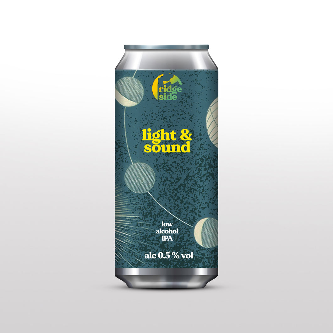 Ridgeside Brewery - Light & Sound - Non Alcoholic IPA (440ml)