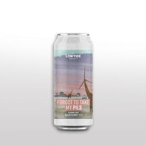 Lowtide - Forgot To Take My Pils - Keller Pils (440ml)