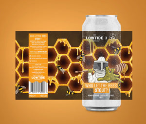Lowtide - Who Let the Bees Stout? (440ml)