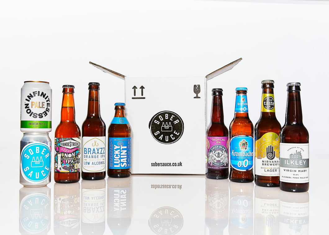 Discovery Box (8 non-alcoholic beers)