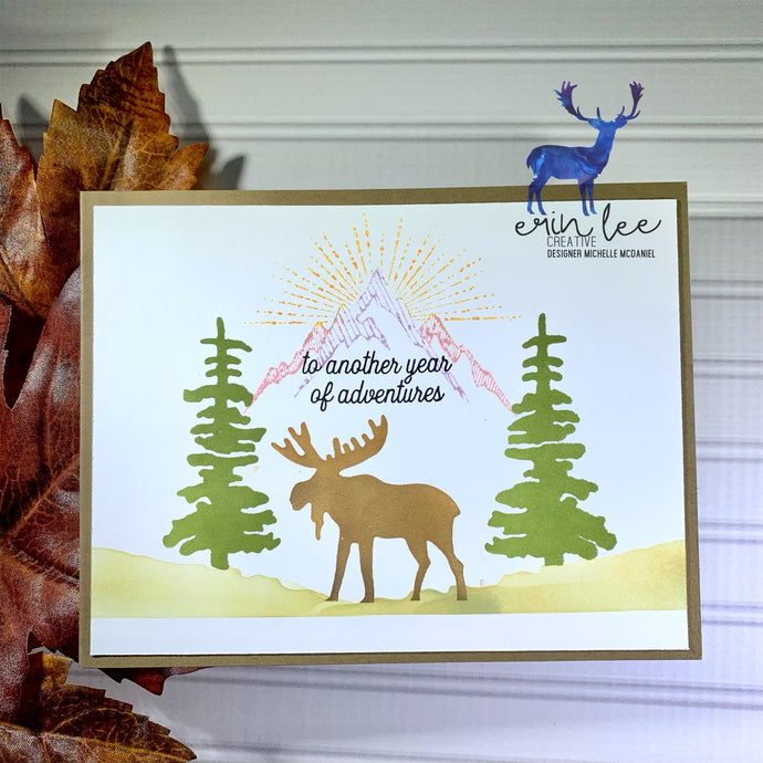 Moose Adventures Card by Michelle
