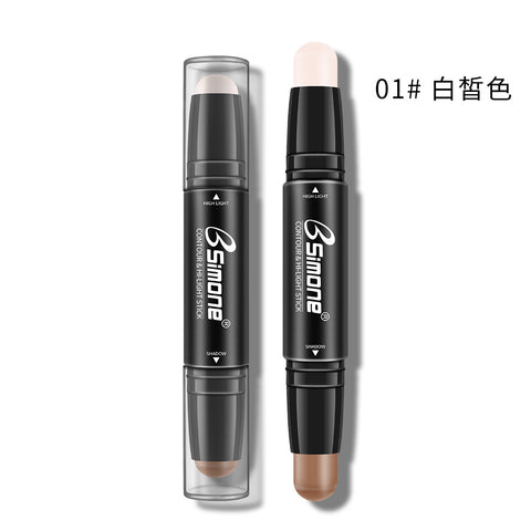 BSIMONE two-head light and shadow trimmer stick concealer pen nose highlighter highlighter stick