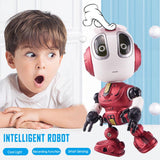 Smart Talking Robot Toy DIY Gesture Electronic Toy Head Touch-Sensitive LED Light Alloy Robot Toys For Kids Christmas Gift 2020