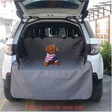 Waterproof Oxford Pet Carriers Dog Car Seat Cover Trunk Mat Cover Collapsible Cats Dogs Protector Carrying Organizer Accessories