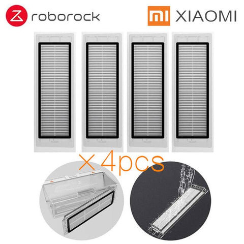 Xiaomi Roborock Robot Vacuum Cleaner Part Kit Side Brush HEPA Filter Mop Cloths Water tank replacements for Xiaomi Roborock