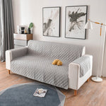 1/2/3 Seater Removable Sofa Cover for Dogs Pets Kids Living Room Furniture Couch Slipcover Armchair Sofa Cover Quilted Fabric