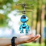 Intelligent Hand Sensing Fly Robot Kids Toys Electronic Aircraft Suspension Toys For Child Smart Pet Action RC Robot With USB