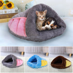 Warm Cat Bed Pet Puppy Cat House Winter Dog Cat Cushion Mat Indoor Basket Cave Kennel Nest Cats Products For Pets Cama de Gato