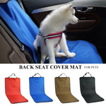 Car Waterproof Back Seat Pet Cover Protector Mat Rear Safety Travel Accessories for Cat Dog Pet Carrier Car Rear Back Seat Mat