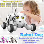 Smart Robot Dog 2.4G Wireless Remote Control Kids Toy Intelligent Talking Walk&Dance Robot Dog Toy Electronic Pet Birthday Gife
