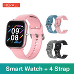 2020 HERALL Smart Watch Men Women's Watches Sport Smartwatch Fitness Bracelet Heart Rate Monitor For Android Xiaomi Apple Huawei