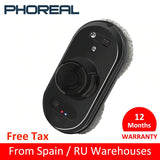PhoReal FR-S60 Window Cleaning Robot High Suction Electric Window Cleaner Robot Anti-falling Remote Control Robot Vacuum Cleaner