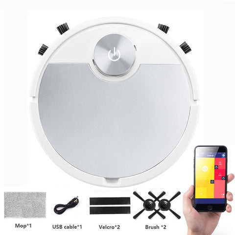 ES06 Robot Vacuum Cleaner Smart vaccum cleaner fpr Home Mobile Phone APP Remote Control Automatic Dust Removal cleaning Sweeper