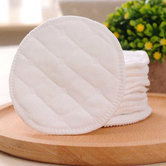 10pcs Reusable Cotton Pads Washable Makeup Remover Pad Soft Face Skin Cleaner Facial Cleaning Beauty Tool for Women Breast Pads