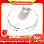VIOMI SE Robot Vacuum Cleaner Smart Planned Y-type Electric Mop, Mijia APP,Save 5 Maps 7 Schedule,Carpet Hair Pet Dust Collector