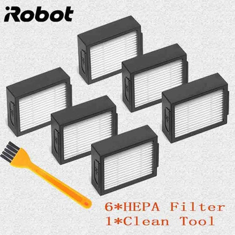 for iRobot Roomba i7 E5 E6 Series Robot Hepa Filter Side Brush Brush Roll Vacuum Cleaner high quality Replacement Spare Parts