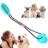 2020 Bite Dog Pet Toys Multifunction Pet Molar Rubber Chew Ball Cleaning Teeth Safe Elasticity Soft Puppy Suction Cup Dog Toy
