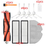 Hepa Filter + Main Side Brush + Mop Cloth Replacement Kits for Xiaomi Mijia 1C / STYTJ01ZHM Robotic Vacuum Cleaner Accessories
