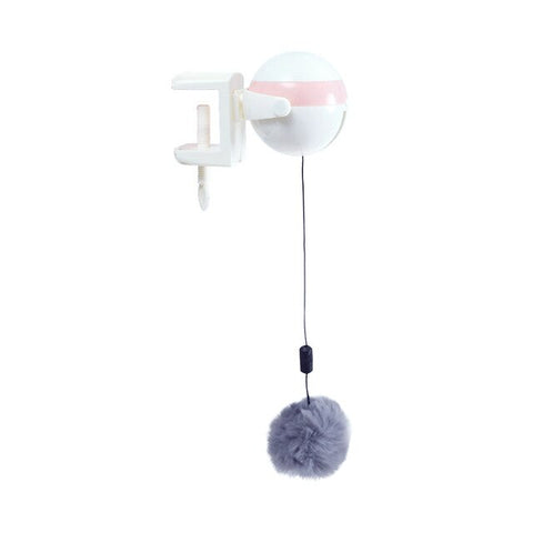Electronic Motion Cat Toy Lifting-Ball Cat-Ball-Toys Electric Flutter Rotating Interactive Puzzle Smart Pet Cat Toys Pet Supply