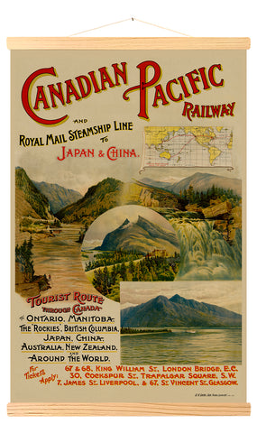 Canadian Pacific Railway & Royal Mail Steamship Line to Japan & China (155)