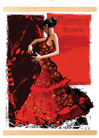 Spanish flamenco dancer (423)