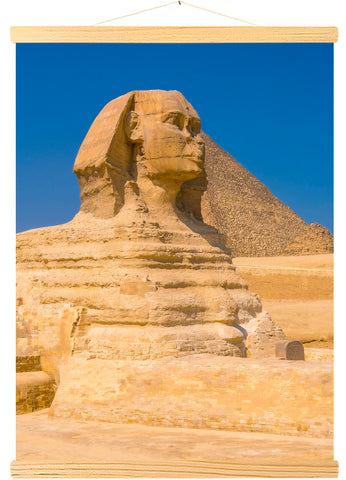 Great Sphinx and Pyramids of Giza, Cairo, Egypt (555)