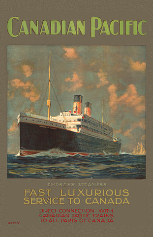 Canadian Pacific - Fast Luxurious Service to Canada (154)
