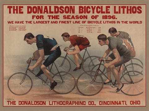 The Donaldson bicycle lithos for the season of 1896 (89)