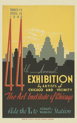 44th annual exhibition by artists of Chicago (79)