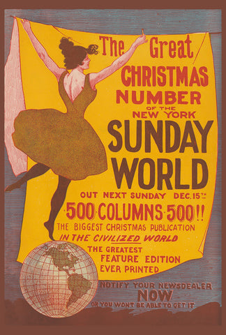 New York Sunday World, Christmas number (204)