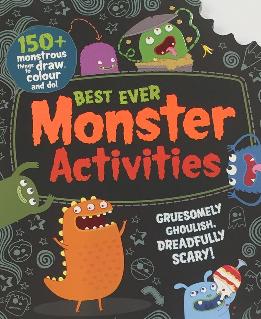 Best Ever Monster Activities - Sweet Thing Baby & Childrens Wear